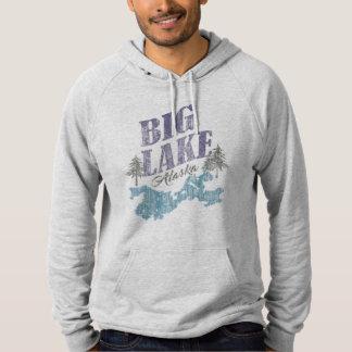 Großes See-Alaska-Sweatshirt oder -t-Shirt Hoodie