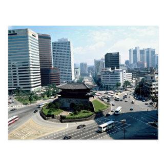Großes Südtor (Sungyemun), Seoul, Südkorea Postkarte