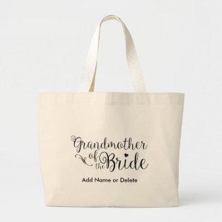 Großmutter der Braut-großen Jumbo Stoffbeutel