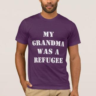 Großmutter-Flüchtling - Männer T-Shirt