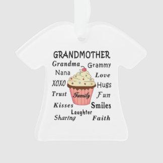 Großmutter-kleine Kuchen Ornament