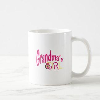 Großmutter-Mädchen Kaffeetasse