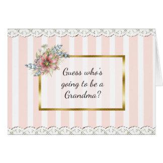 Großmutter-Mitteilungs-Karte Karte