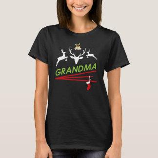 Großmutter-Ren-Huf druckt Weihnachten T-Shirt