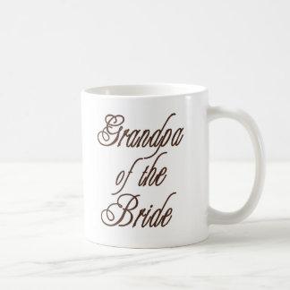 Großvater des Braut-noblen Brauns Kaffeetasse