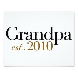 Großvater Est 2010 10,8 X 14 Cm Einladungskarte