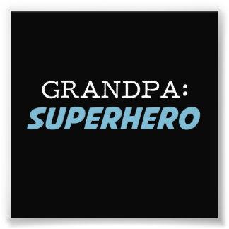 Großvater ist ein Superheld-Großvater Photos