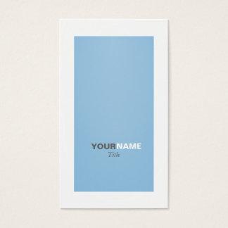 Groupon friedvolles Blau Visitenkarte
