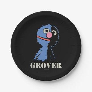Grover halb pappteller