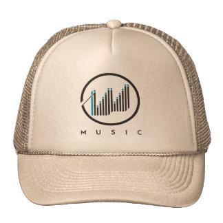 Grow Music Hats Trucker Caps
