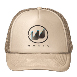 Grow Music Hats Trucker Caps