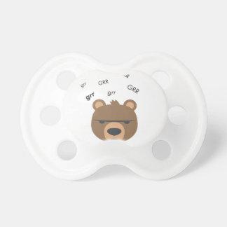 Grr Bär niedliches Emoji Schnuller