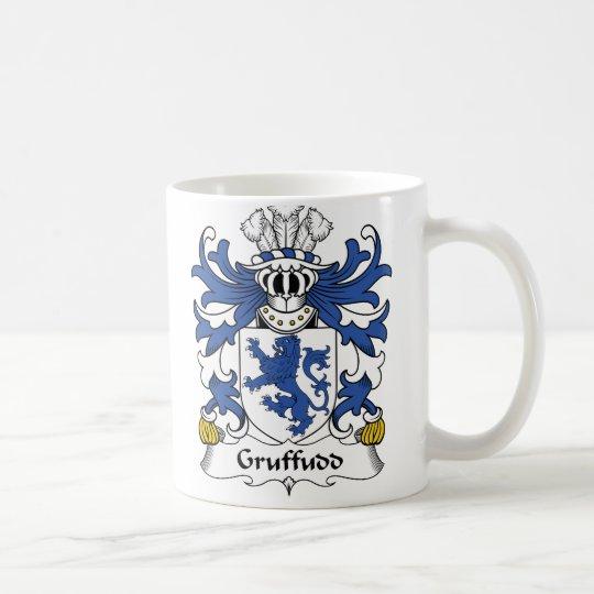 Gruffudd Familienwappen Kaffeetasse