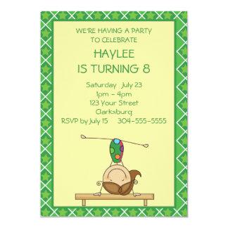 Grün hat 12,7 x 17,8 cm einladungskarte
