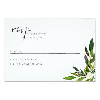 Grün-Hochzeits-Einladungs-Set UAWG Karte 8,9 X 12,7 Cm Einladungskarte