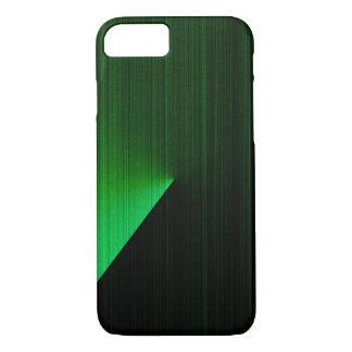 Grün-Höhepunkte über schwarzem iPhone 6 Kasten iPhone 8/7 Hülle