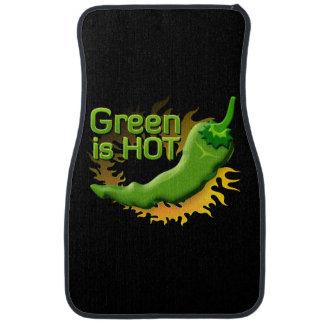 Grün ist HEISS Autofußmatte