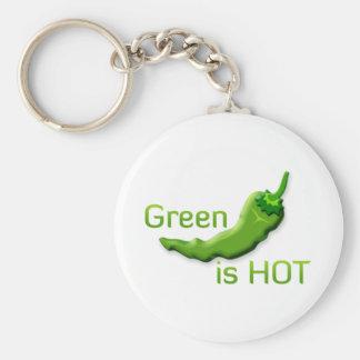 Grün ist heiß schlüsselanhänger