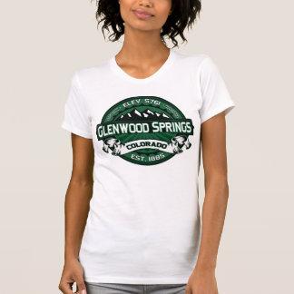 "Grün-"" Logo Glenwood Springs ""Colorado T-Shirt"