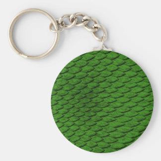 Grün-Skalen Schlüsselanhänger