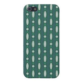 Grün u. Kiefern-wulstiger Vorhang iPhone 5 Schutzhüllen