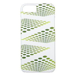 Grün verblassen iPhone 7 hülle