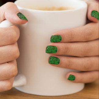 Grün versieht Minx-Nagel-Kunst-Verpackungen mit Minx Nagelkunst