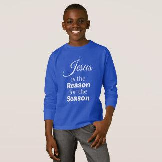 Grund während der Jahreszeit scherzt langes T-Shirt