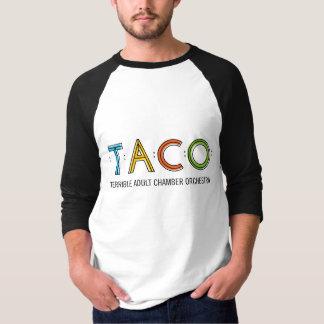 Grundlegender 3/4 T - Shirt TACO die Hülse der