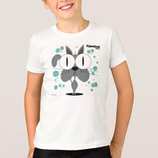 Grundlegender amerikanischer T - Shirt der graue