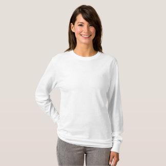 Grundlegender langer die Hülsen-T - Shirt der