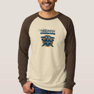 Grundlegender langer HülseRaglan - Brown - Birdman T-Shirt