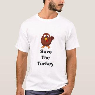 """Grundlegender """"retten Sie der Truthahn"""" der Männer T-Shirt"""