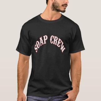 Grundlegender Seifen-Crew-T - Shirt