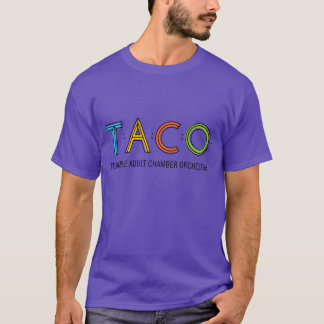 Grundlegender TACO T - Shirt, lila T-Shirt