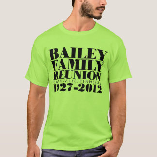 Grundlegender Wiedersehen-Entwurf T-Shirt