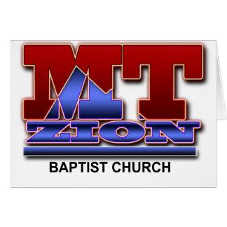 Grundlegendes Logo Mt Zion Karte