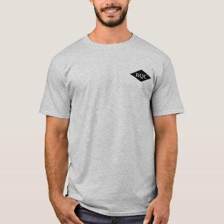 Grundlegendes RQ T-Stück im Grau T-Shirt