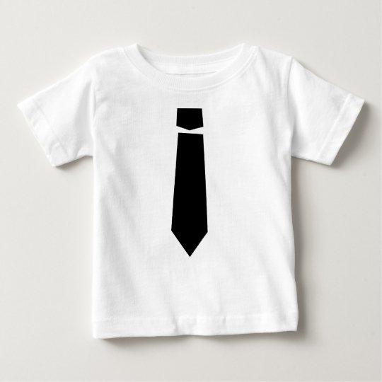 Grundlegendes Schwarz-Krawatte Shirt