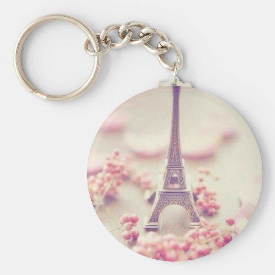 Grundnamekette des Eiffelturms Schlüsselanhänger