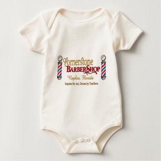 Grundstein-Friseursalon Baby Strampler