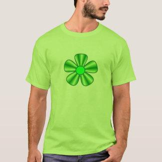 grüne Blume T-Shirt