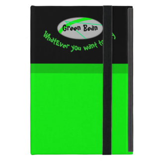 Grüne Bohne iPad Mini Hülle