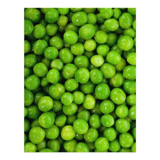 Grüne Erbsen-Hintergrund