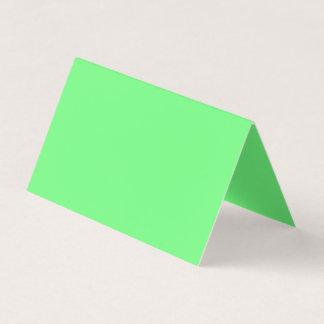 Grüne Farbe G07 Visitenkarten