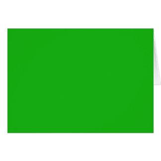 Grüne Farbe Karte