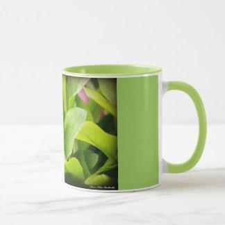 Grüne Garten-Tasse Tasse