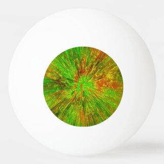 Grüne gefärbte Krawatte Tischtennis Ball