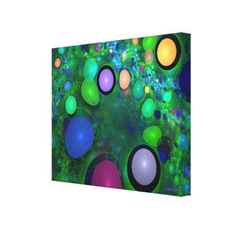 """""""Grüne Geleebonbon-"""" kundenspezifische Kunst durch Leinwanddruck"""