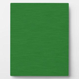 Grüne Holzmaserung Fotoplatte